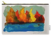 River Bank In Color Carry-all Pouch