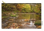 River Blyth In Autumn Vertical Carry-all Pouch