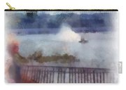 River Boat Speed Racing Vertical Photo Art Carry-all Pouch