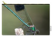 River Damselfly  Carry-all Pouch