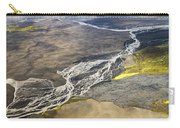 River Delta Iceland Carry-all Pouch