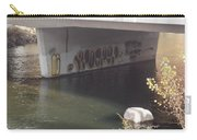 River Graffiti Carry-all Pouch