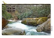 River House In Spring Carry-all Pouch