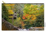 River House In The Fall Carry-all Pouch