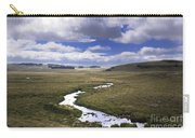 River In A Landscape Carry-all Pouch