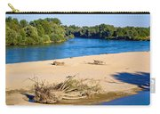 River Of Drava Green Nature Carry-all Pouch