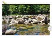 River Of Rocks Carry-all Pouch