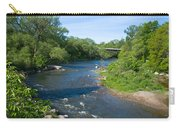 River Passing Through A Forest, Beaver Carry-all Pouch