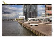 River Promenade In Rotterdam Carry-all Pouch