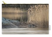 River Rock And Reeds Carry-all Pouch
