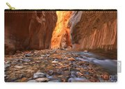 River Rocks In The Narrows Carry-all Pouch