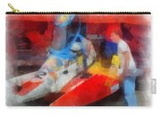 River Speed Boat Number 2 Photo Art Carry-all Pouch
