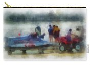 River Speed Boat Photo Art Carry-all Pouch