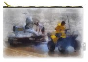 River Speed Boat White Photo Art Carry-all Pouch