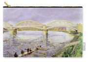 River Thames At Barnes Carry-all Pouch by Sarah Butterfield