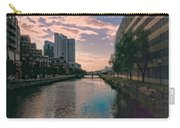 River Through Baltimore Carry-all Pouch