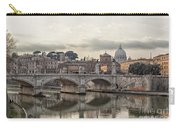 River Tiber In Rome Carry-all Pouch
