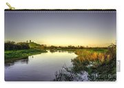 River Tone At Burrowbridge Carry-all Pouch