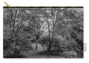 River Tranquility Monochrome Carry-all Pouch