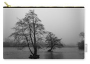 River Trees And Fog Carry-all Pouch