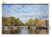 River View Of Amsterdam In The Netherlands Carry-all Pouch