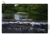 River Wye - In Peak District - England Carry-all Pouch