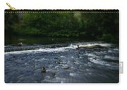 River Wye Waterfall - In Peak District - England Carry-all Pouch