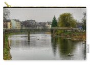 The River Kent At Kirkland In Kendal Carry-all Pouch