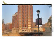 Riverwalk And Lamp Post Carry-all Pouch