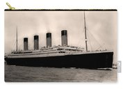 Rms Titanic Carry-all Pouch