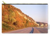 Road Along A River, Great River Road Carry-all Pouch
