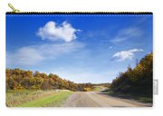 Road Approaching Hill Carry-all Pouch