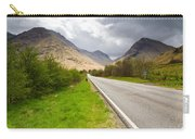 Road Into Glen Coe Carry-all Pouch