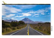 Road Leading To Active Volcanoe Mt Ngauruhoe Nz Carry-all Pouch