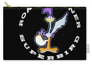 Road Runner Superbird Emblem Carry-all Pouch by Jill Reger