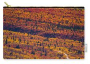 Road Through Fall Colored Tundra Carry-all Pouch