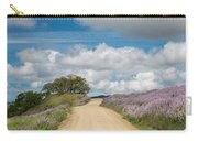 Road Through Lupine Carry-all Pouch