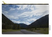 Road Through The Mountains Carry-all Pouch