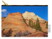 Road Through Zion Np Carry-all Pouch