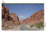Road Throught The Valley Of Fire Carry-all Pouch
