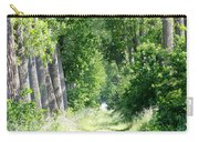 Road To Bruges Carry-all Pouch by Carol Groenen