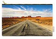 Road To Navajo Carry-all Pouch