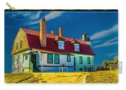 Road To Point Betsie Light Carry-all Pouch