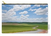 Road Winding Through The Palouse Wheatfields Carry-all Pouch