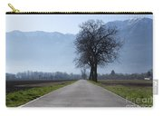 Road With Trees Carry-all Pouch
