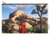 Phone Booth In Joshua Tree Carry-all Pouch