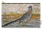 Roadrunner With Lizard Carry-all Pouch