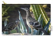 Roadrunners At Play  Carry-all Pouch