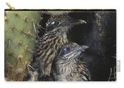 Roadrunners In Nest Carry-all Pouch