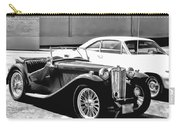 Roadster In Black And White Carry-all Pouch